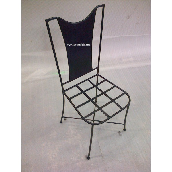 Chaise fer forg pia coussin compris chaises en fer for Chaise tole