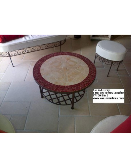 table basse en zellige cassandre tables rectangulaires. Black Bedroom Furniture Sets. Home Design Ideas