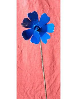Tuteur fluer des prés bleue