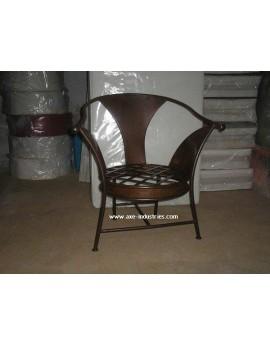 Fauteuil Amorosa avec assise déhoussable