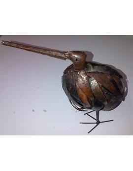 Kiwi en métal