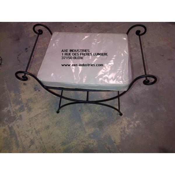 fauteuil fer forg bonheur fauteuils en fer forg axe industries. Black Bedroom Furniture Sets. Home Design Ideas