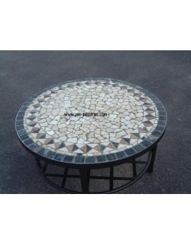 Table basse pierres naturelles Modèle Bléré
