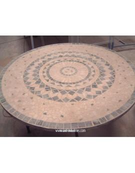 Table haute pierres naturelles Modèle Bonifacio