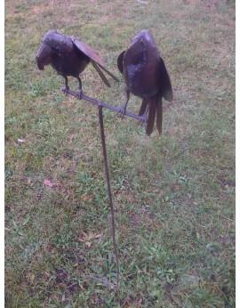 Tuteur perroquets