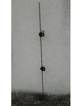 10 piquets fibre de verre 1.80m livrés sans isolateur
