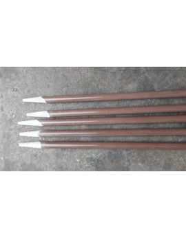 JONC PLEIN 10mm - 1.80 mètres  marron