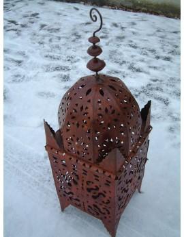 Lanterne marocaine en tole perforée