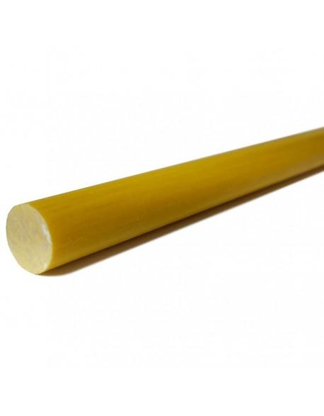 Piquet fibre de verre jaune Diamétre 6mm 1m50