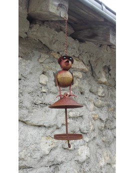 Mangeoire oiseau à suspendre