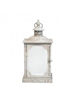Lanterne Songe d'été en fer blanc