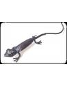 Gecko en métal recyclé