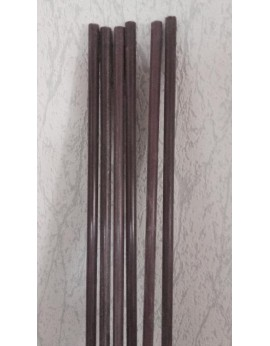 Sachet  de 25 piquets fibre de verre 10 mm  en 1m80 MARRON