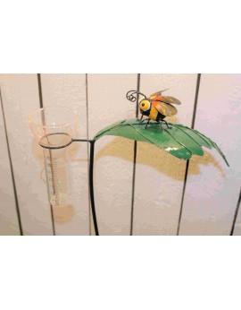Pluviomètre abeille
