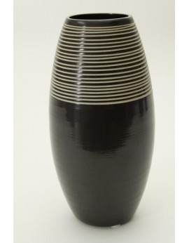 Vase en céramique lissée 6411