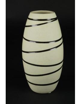 Vase fuselé céramique naturelle 6421