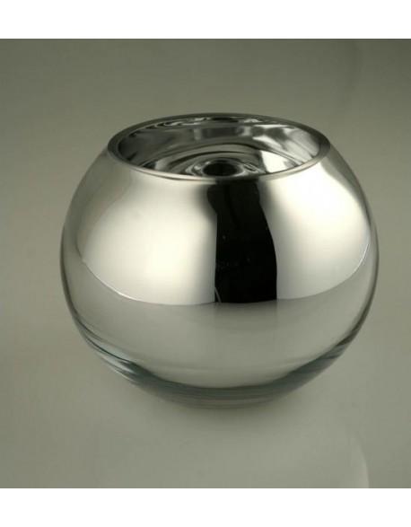 vase boule en verre vases d 39 int rieur axe industries. Black Bedroom Furniture Sets. Home Design Ideas