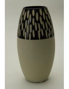 Vase fuselé en céramique naturelle 6311
