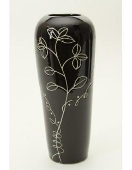 Vase fusé en céramique lissée 6151