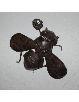 Petite abeille murale