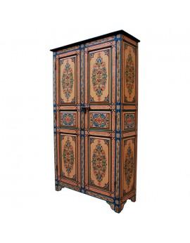 Armoire en bois peint ELISABETH