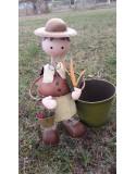 Cache pot de jardin